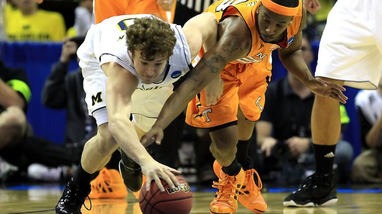 No. 8 Michigan 75, No. 9 Tennessee 45