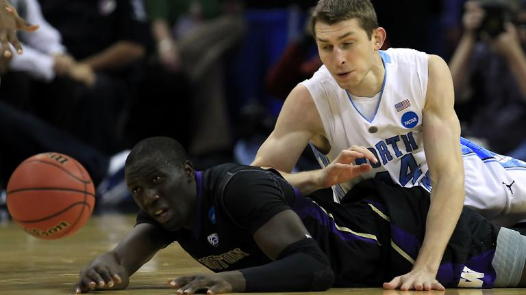 No. 2 North Carolina 86, No. 7 Washington 83