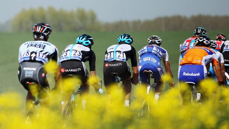 In the midst of the peloton