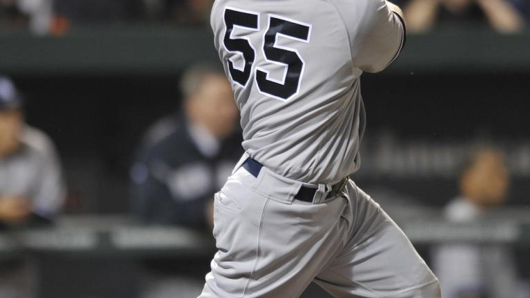 Russell Martin, Yankees, April 23