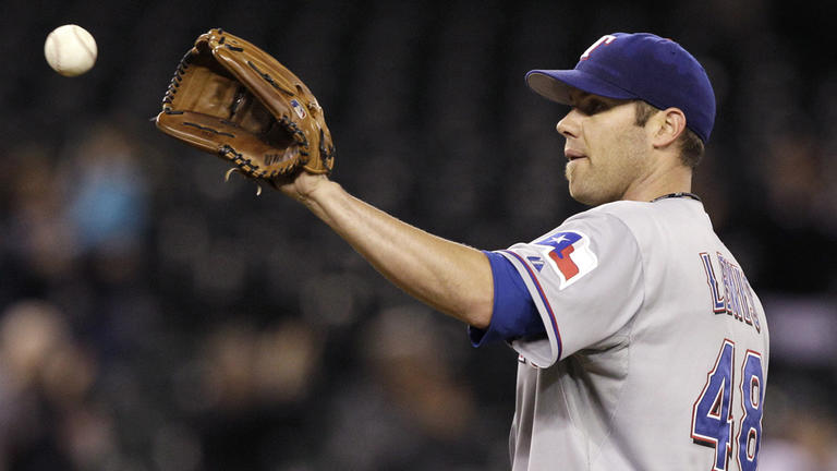 Colby Lewis, Rangers, May 5