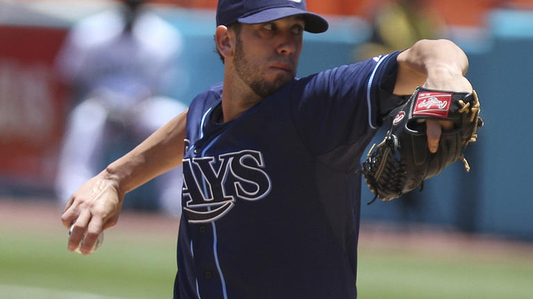 James Shields, Rays, May 22 (3rd)