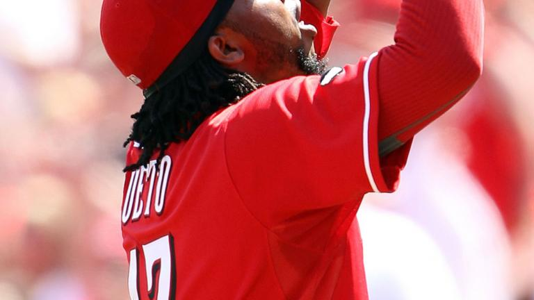 Johnny Cueto, Reds, July 31