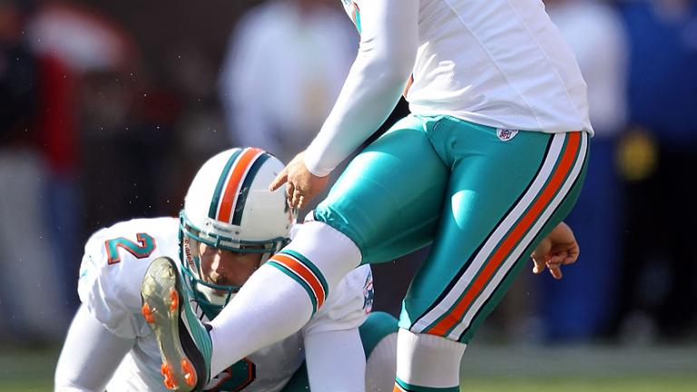 Kicker: Dan Carpenter, Dolphins