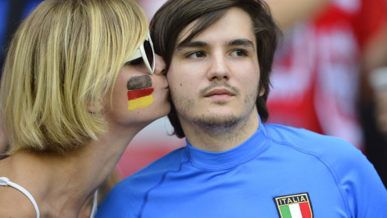 Semifinals: Italy 2, Germany 1