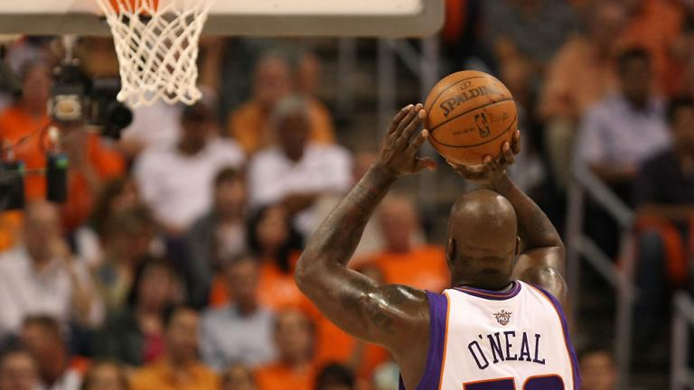 Shaq's flaw at the line