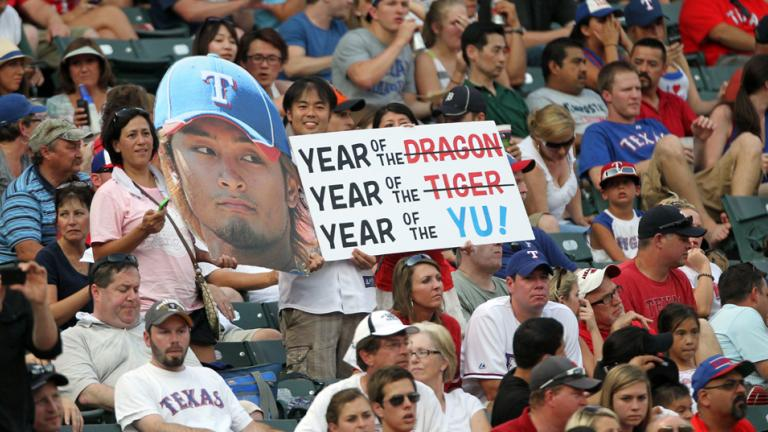 Time for Yu to pitch