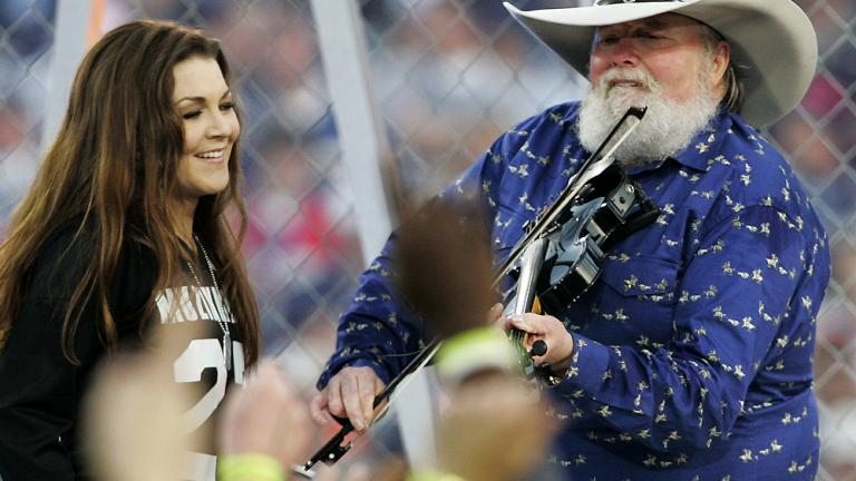 Gretchen Wilson and Charlie Daniels
