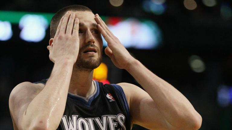 Kevin Love, West reserve