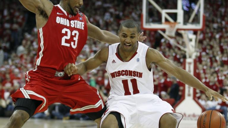 No. 12 Wisconsin at No. 3 Ohio State, March 6