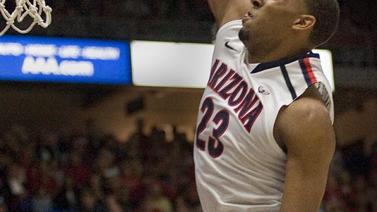 First team: <br>Derrick Williams, Arizona