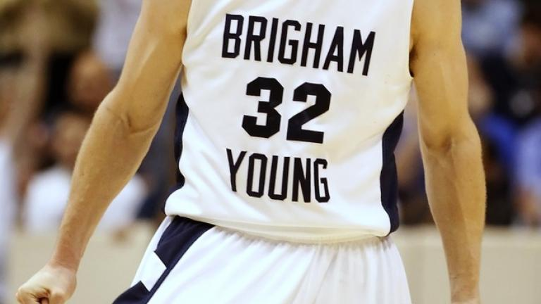 First team: <br>Jimmer Fredette, BYU