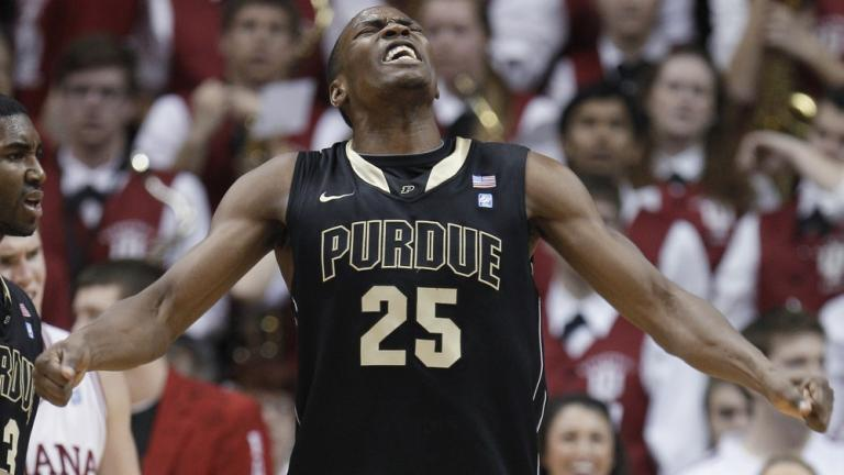First team: <br>JaJuan Johnson, Purdue