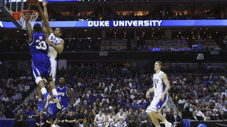 No. 1 Duke 87, No. 16 Hampton 45