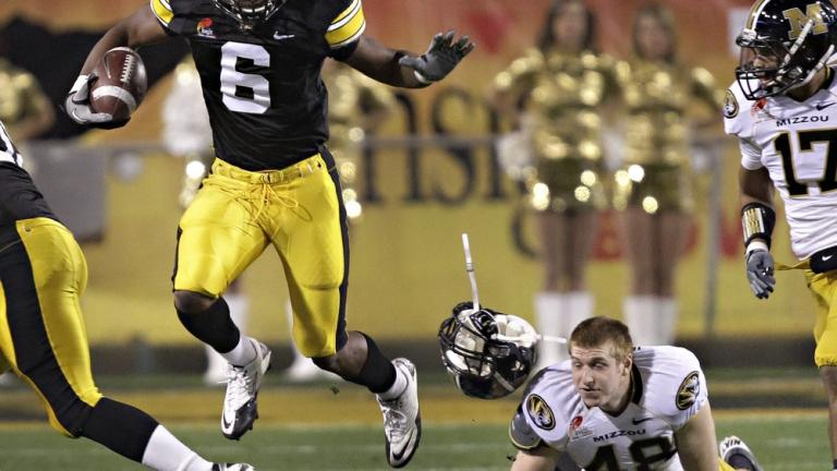 Insight: Iowa 27,<br>No. 14 Missouri 24