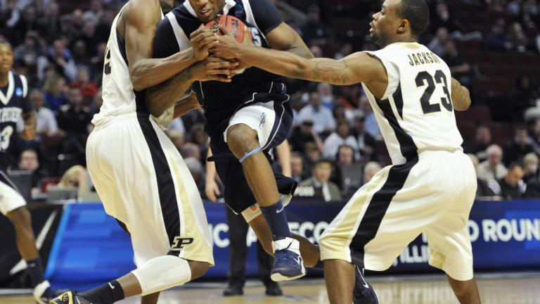 No. 3 Purdue 63, No. 14 St. Peter's 43