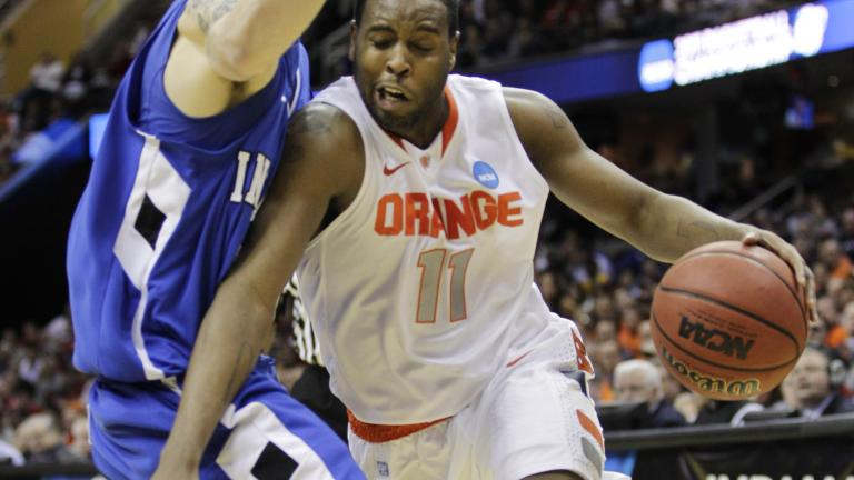 No. 3 Syracuse 77, No. 14 Indiana State 60