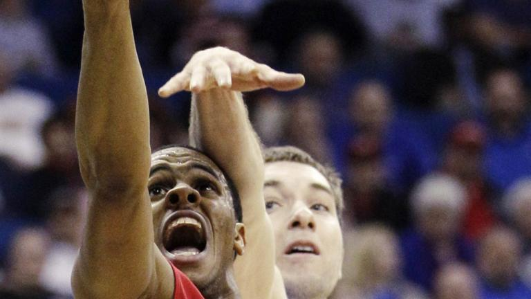 No. 1 Kansas 72, No. 16 Boston 53