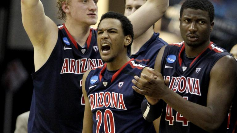 No. 4 Arizona 70, No. 5 Texas 69