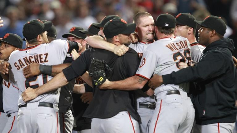 NLDS Game 4: Giants 3, Braves 2