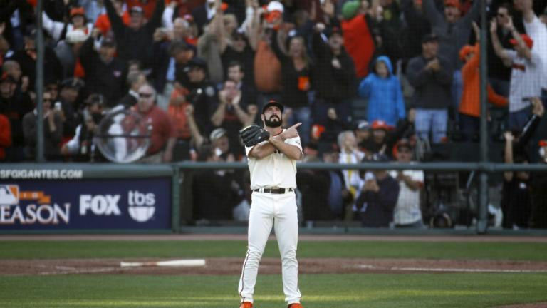 NLCS Game 4: Giants 6, Phillies 5