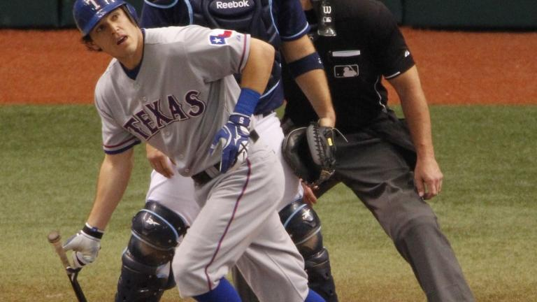 ALDS Game 2: Rangers 6, Rays 0