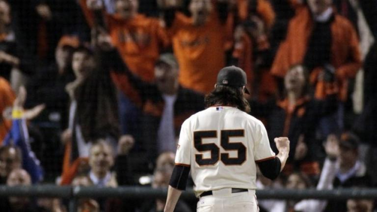 NLDS Game 1: Giants 1, Braves 0