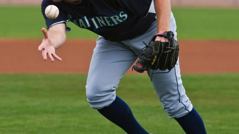Tom Wilhelmsen, minor league pitcher in Mariners organization
