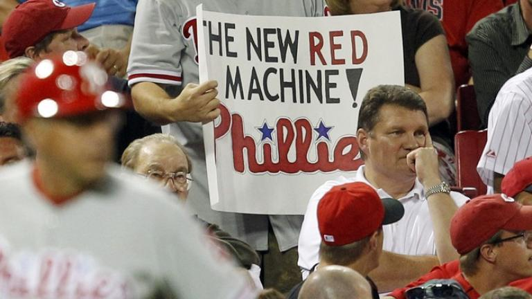 NLDS Game 3: Phillies 2, Reds 0