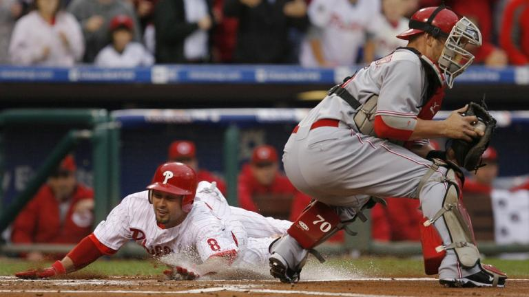 NLDS Game 1: Phillies 4, Reds 0