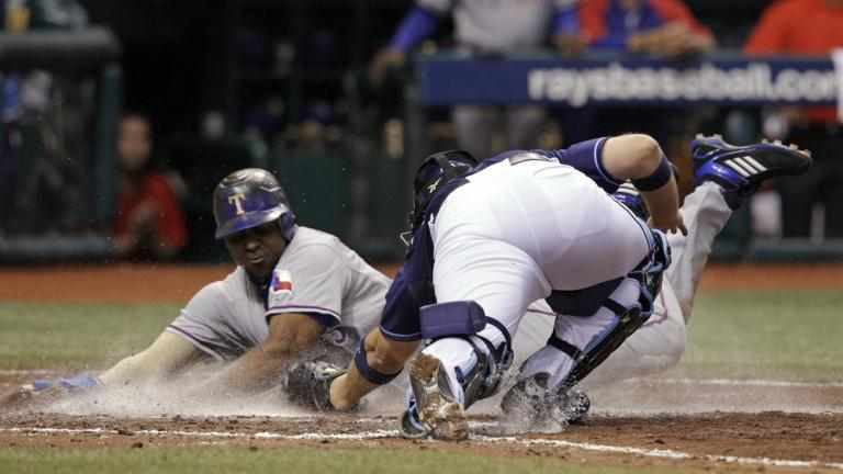 ALDS Game 5: Rangers 5, Rays 1