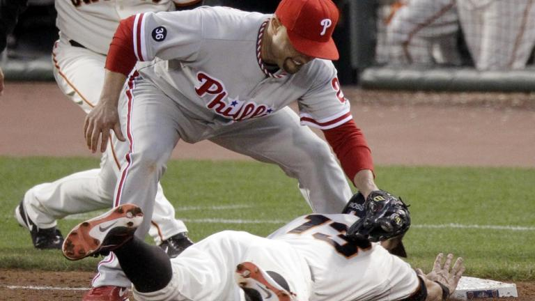NLCS Game 5: Phillies 4, Giants 2