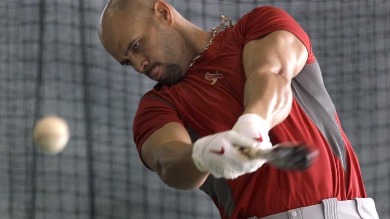 Hitting: Albert Pujols, Cardinals
