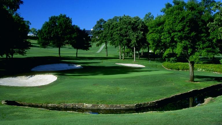 Southern Hills: 12th Hole