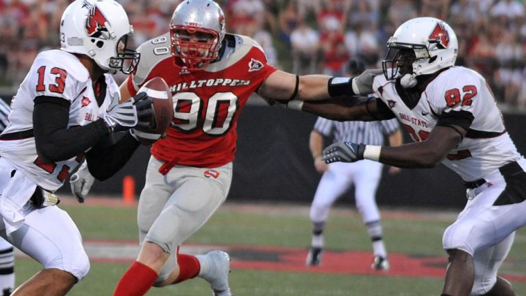 No. 25 Ball State 24, W. Kentucky 7