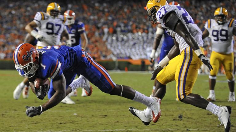 No. 11 Florida 51, No. 4 LSU 21