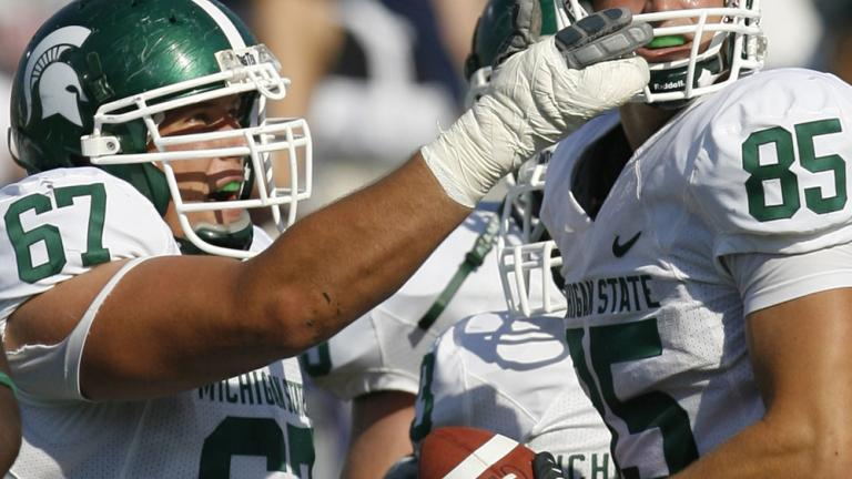 No. 23 Michigan State 37, Northwestern 20