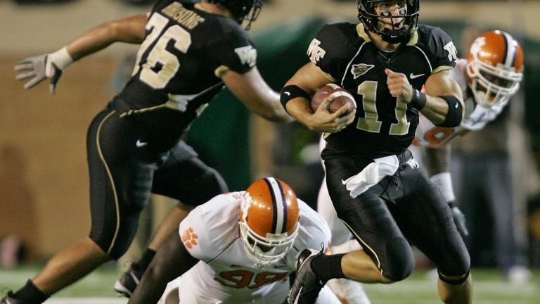 No. 21 Wake Forest 12, Clemson 7