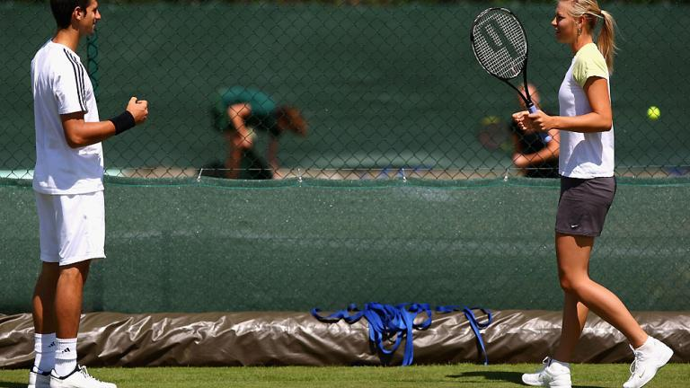 Tennis players hookup other tennis players