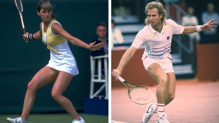 Chris Evert and Vitas Gerulaitis