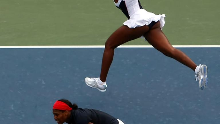 Aug. 17: Doubles gold for the Williams sisters
