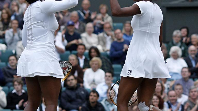 July 5: Williamses win Wimbledon doubles crown