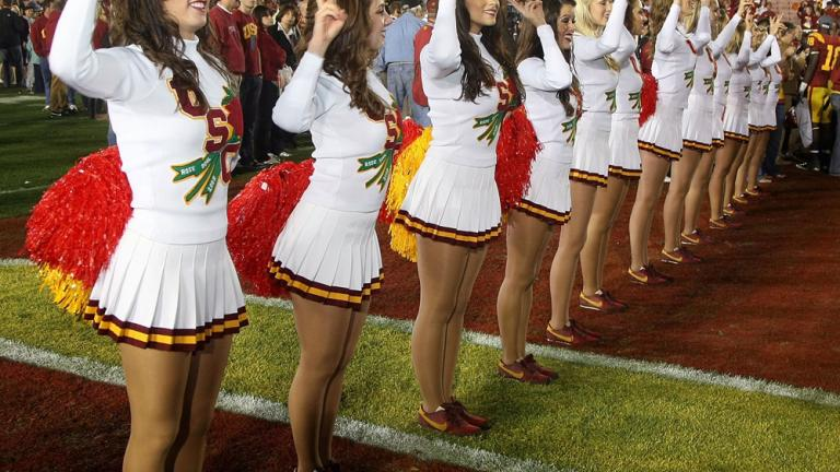 cheerleaders around the country during the 2008 season nbc sports