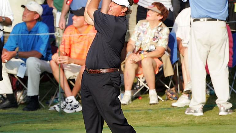 2007: Phil Mickelson