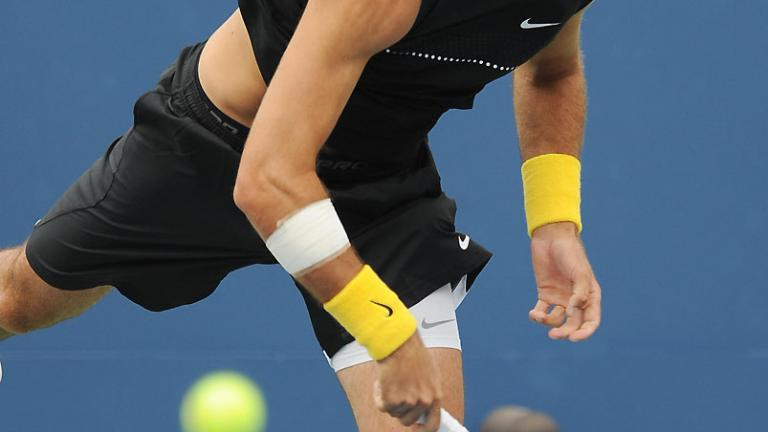 Serving his way to victory