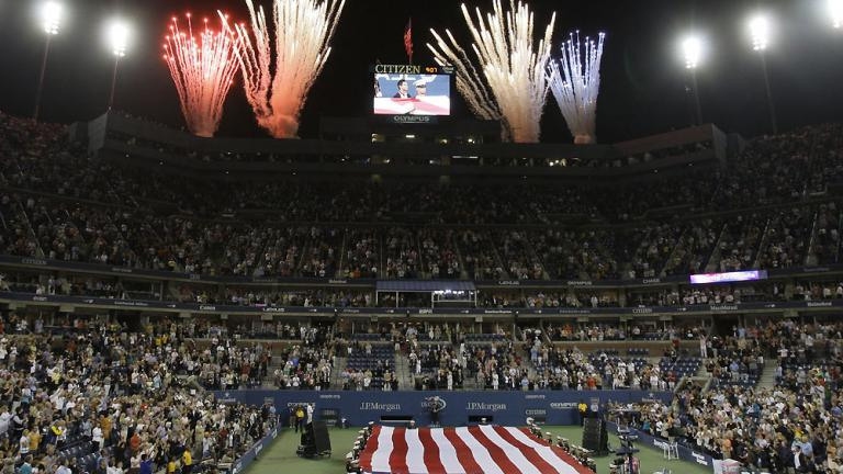 Fireworks on court