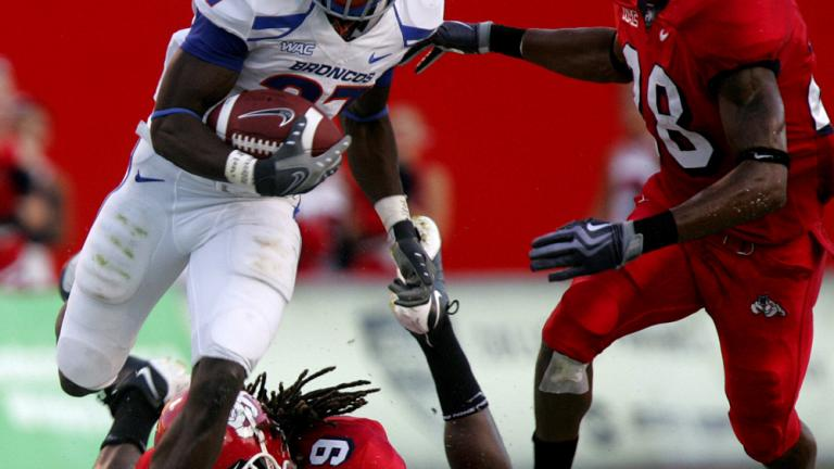 No. 10 Boise State 51, Fresno State 34