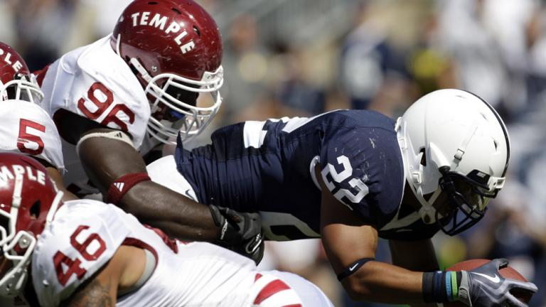 No. 5 Penn State 31, Temple 6