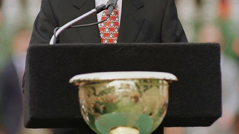 President present at the Presidents Cup