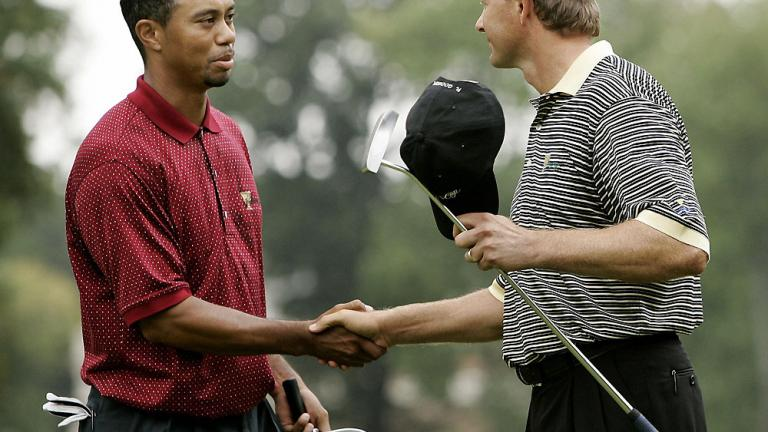 A first for Tiger
